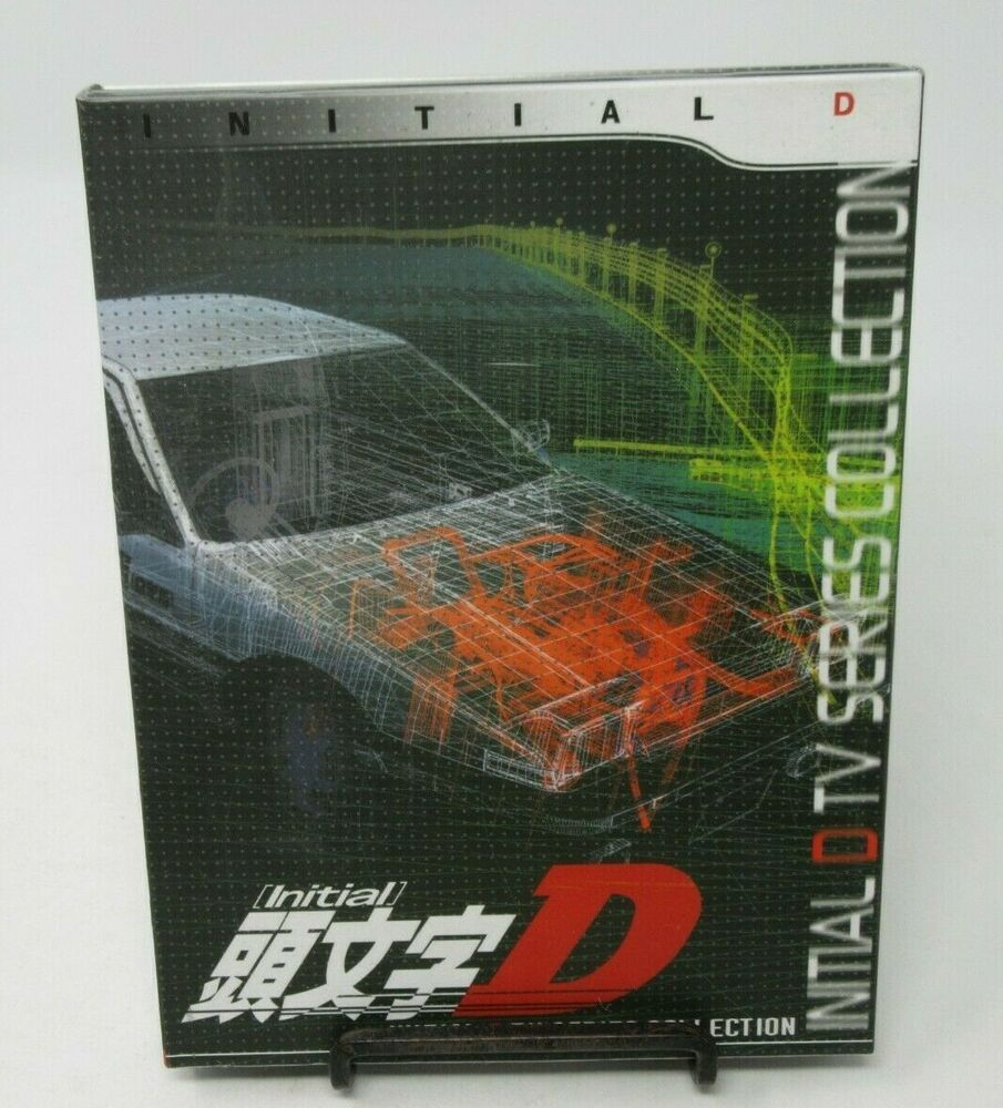 Details about INITIAL D TV SERIES COLLECTION ANIME 3DISC