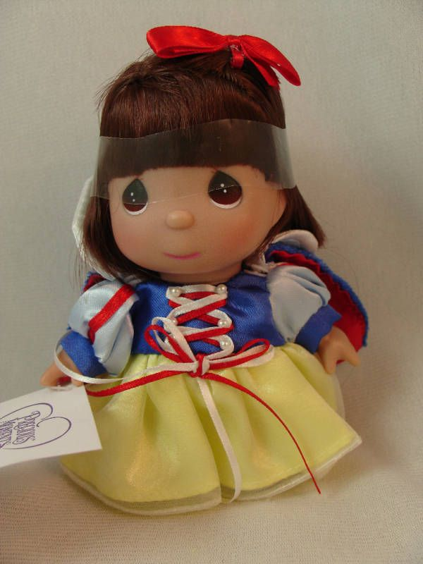 "Snow White 5"" Vinyl Mini Moments Doll Disney Precious Moments #5266 Signed #PreciousMoments #Dolls"