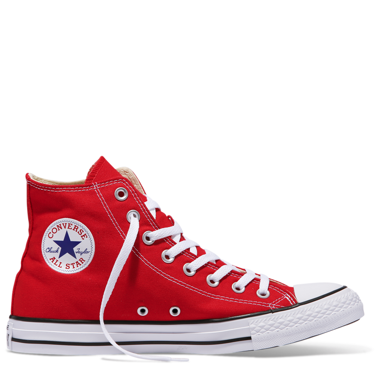 10c13d5307a Buy Chuck Taylor All Star Classic Colour High Top Red online at Converse.  Free shipping on orders over  75.