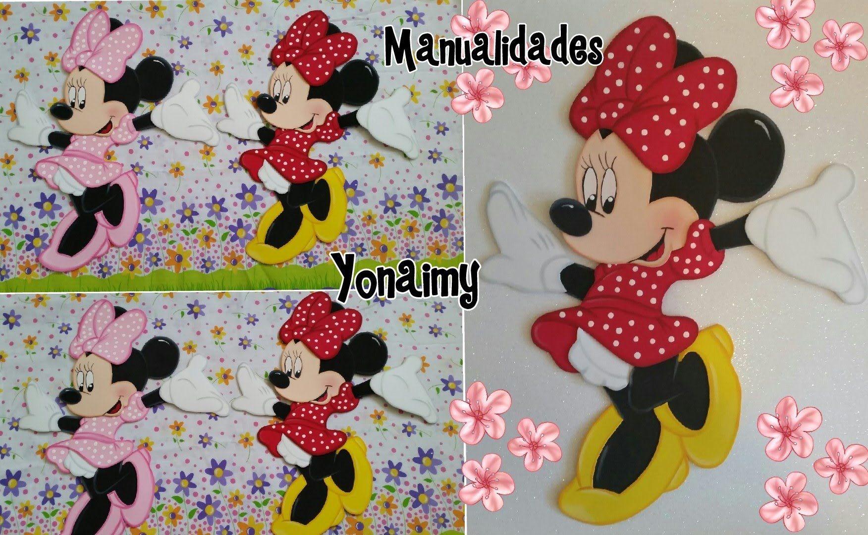 Minnie O Goma En EvaFofuchas Mouse Foamy Completa l1cFJK