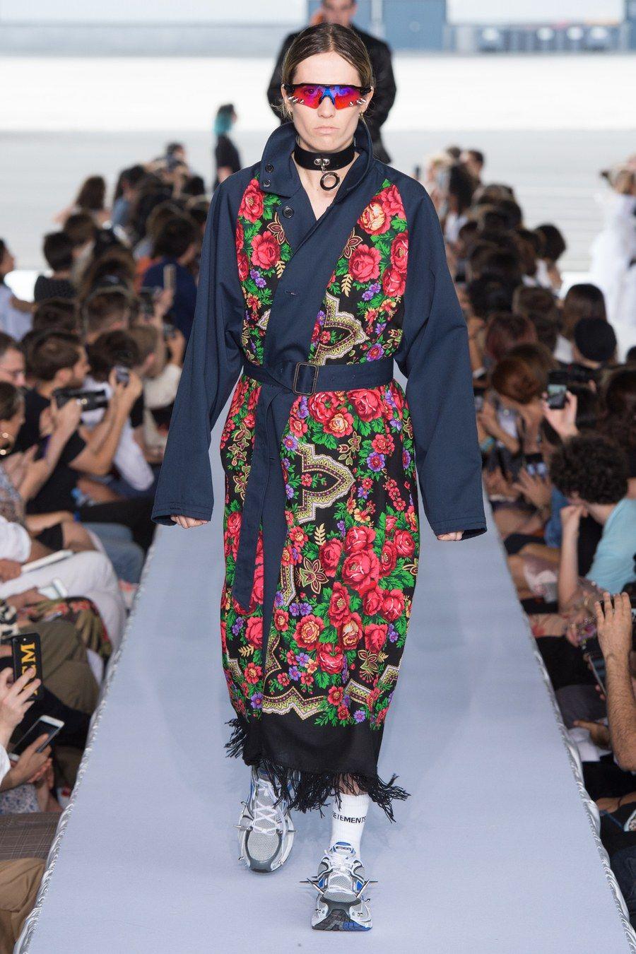 Vetements Spring 2019 Menswear Fashion Show