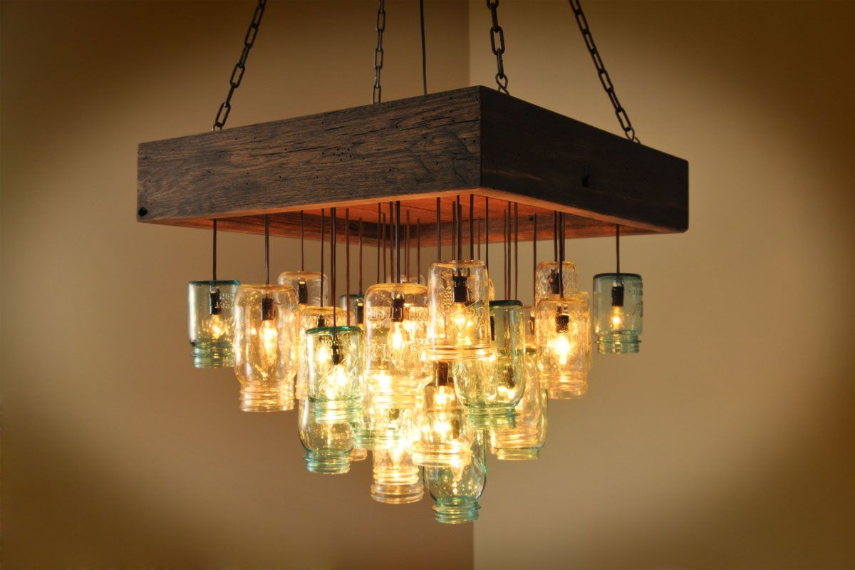 jar lighting fixtures. Mason Jar Lighting Fixture. 18 Amazing Diy Home Upgrades. Lightingmason Light Fixturemason Fixtures
