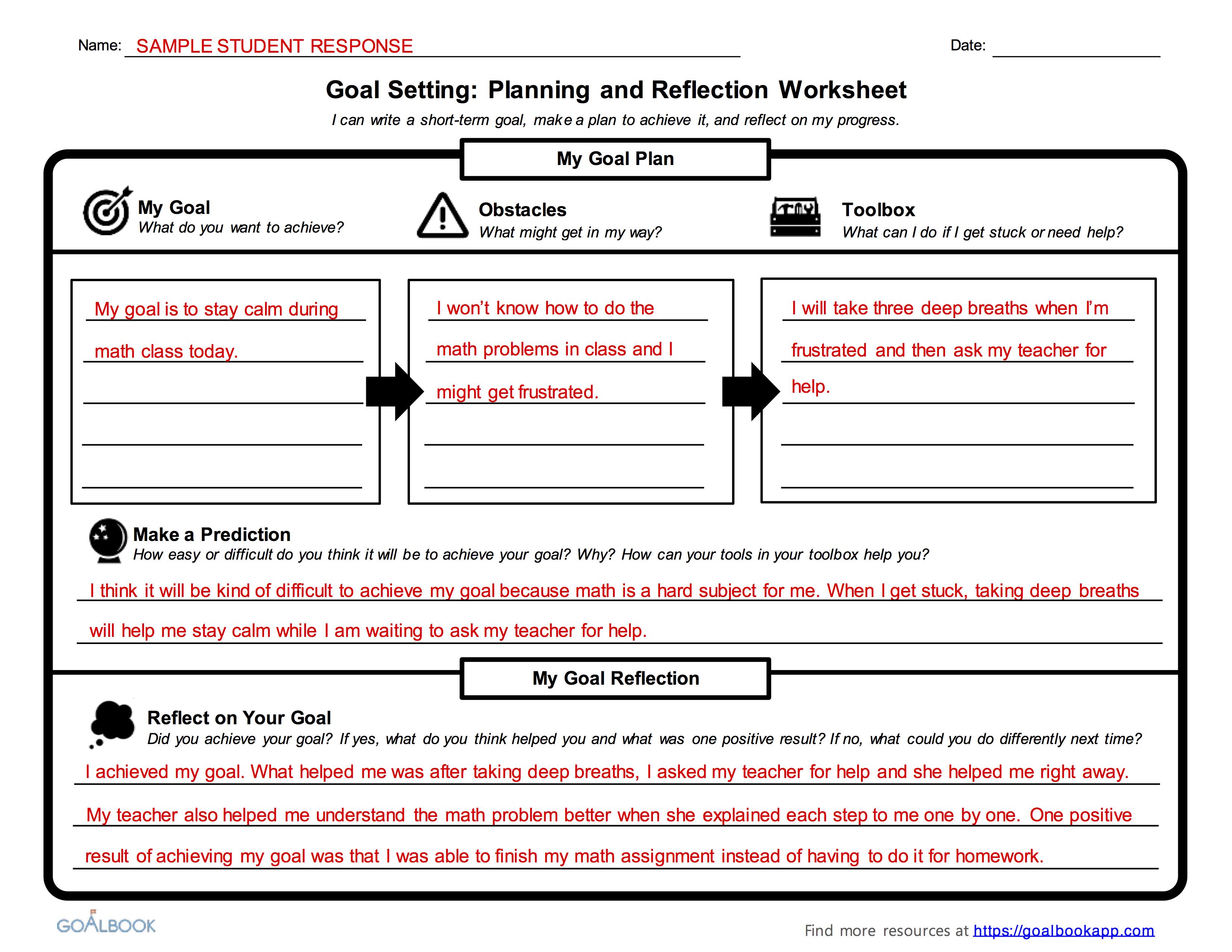 Anger Management Triggers Worksheet