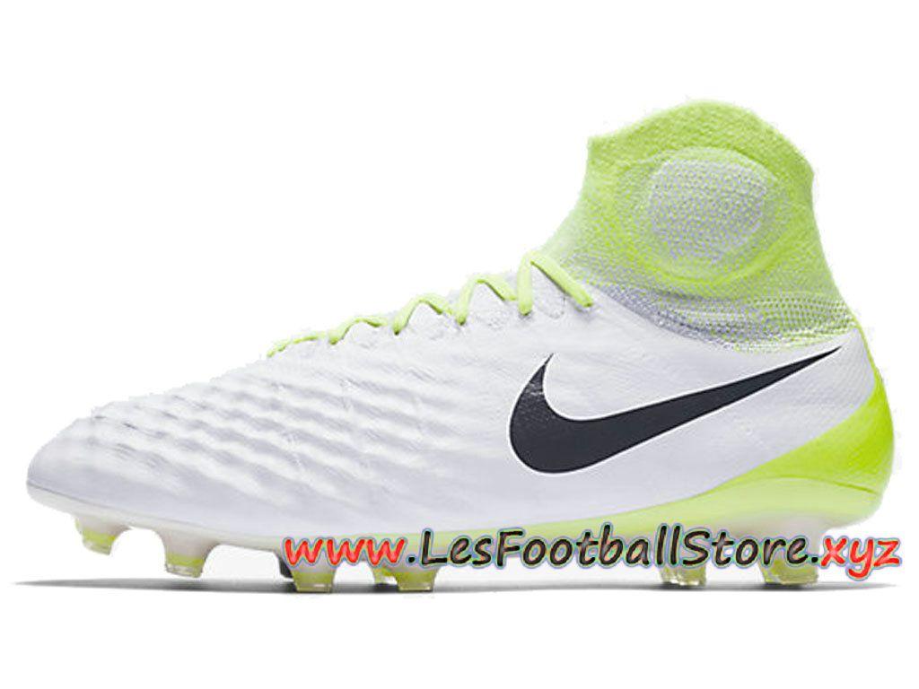 new product a7d5c 6d5cd Nike Magista Obra Ii Fg Chaussure De Football à Crampons Pour Terrain Sec  Blanc Vert 844595-109-Merci pour votre confiance et bon shopping sur ...