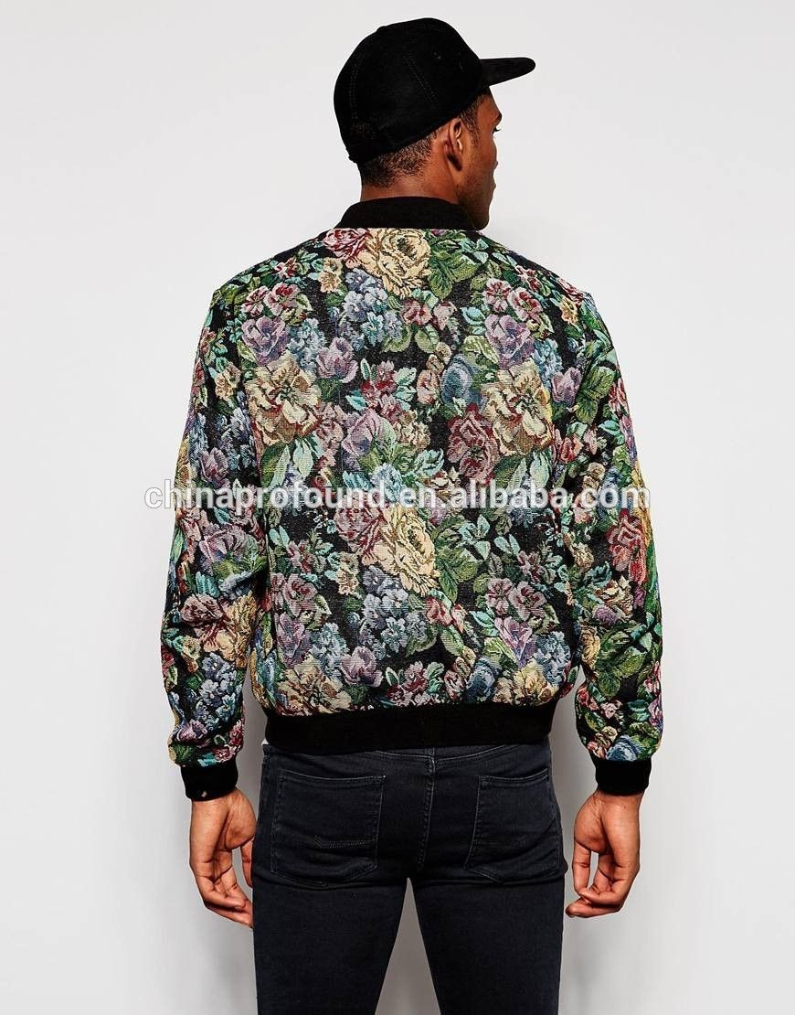9bdfb519 Mens sublimation printing all over printing polyester bomber jacket, View  boys fancy jacket, OEM Product Details from Guangzhou Profound Garment Co.,  ...
