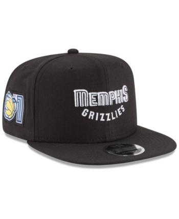 separation shoes 372cd 4a11b New Era Memphis Grizzlies Anniversary Patch 9FIFTY Snapback Cap - Black  Adjustable