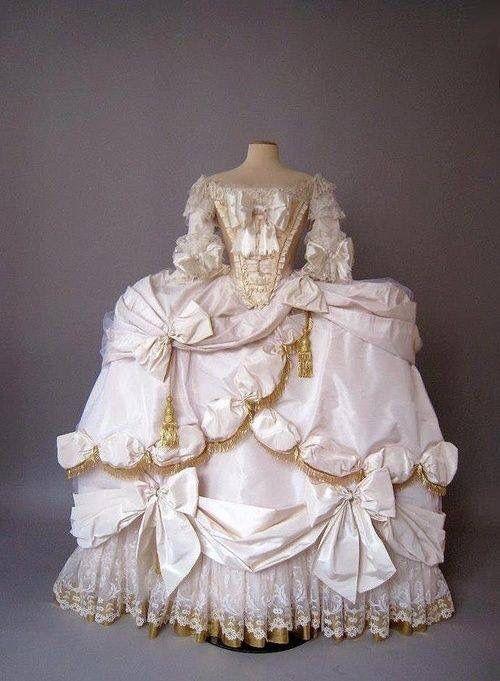 Photo of Marie Antoinette Robe de Coeur Court Gown (1778-79)