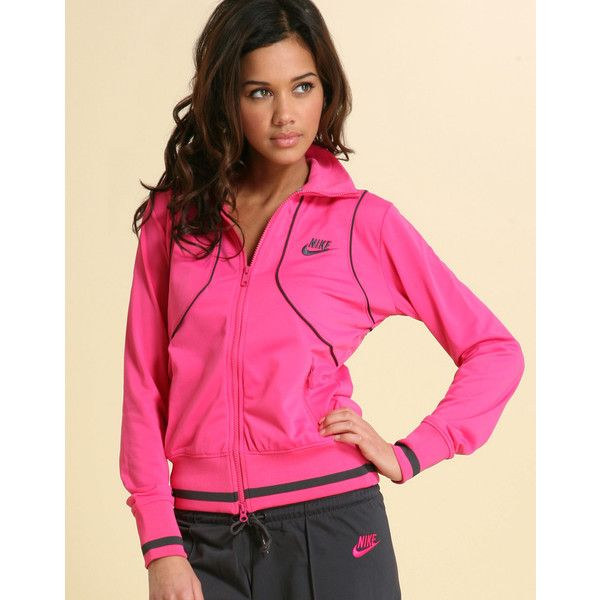 Nike Polywarp Warm Up Tracksuit (44 AUD) found on Polyvore