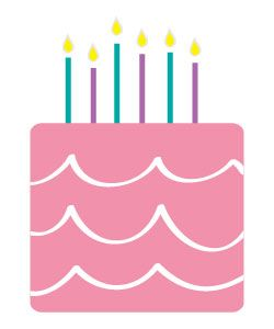 free happy birthday clipart and graphics to for invitations banners rh pinterest nz