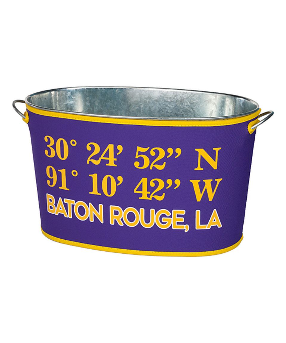 Look what I found on #zulily! 'Baton Rouge, LA' Coordinates Party Tub & Cover by Occasionally Made #zulilyfinds