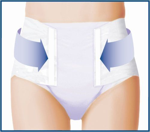 Picture of adult in diaper