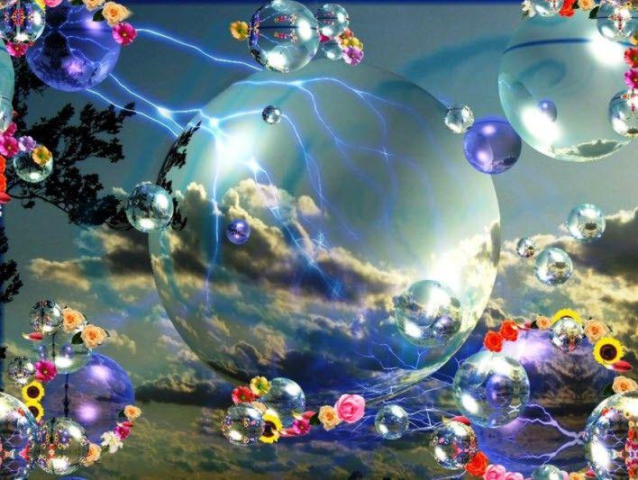 3D Moving Screensavers Bubbles