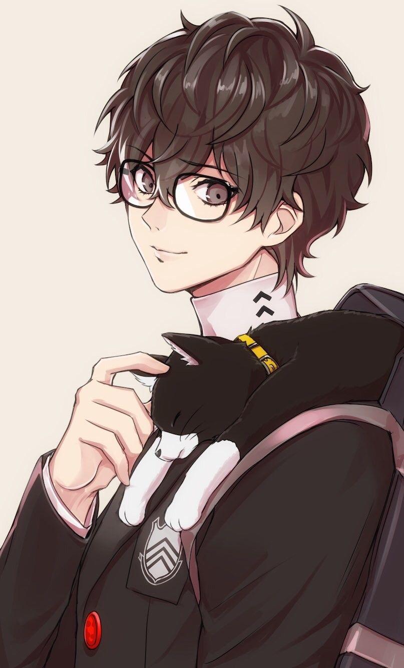 Anime Male Glasses : anime, glasses, Anime, Glasse, Ideas, Anime,