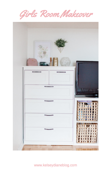 Ikea Songesand Dresser In Shared Girls Room To Make Diy Built In Shared Girls Room Bedroom Decor Room Makeover