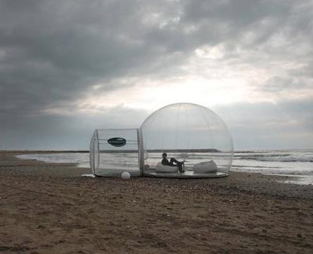 Transparent camp