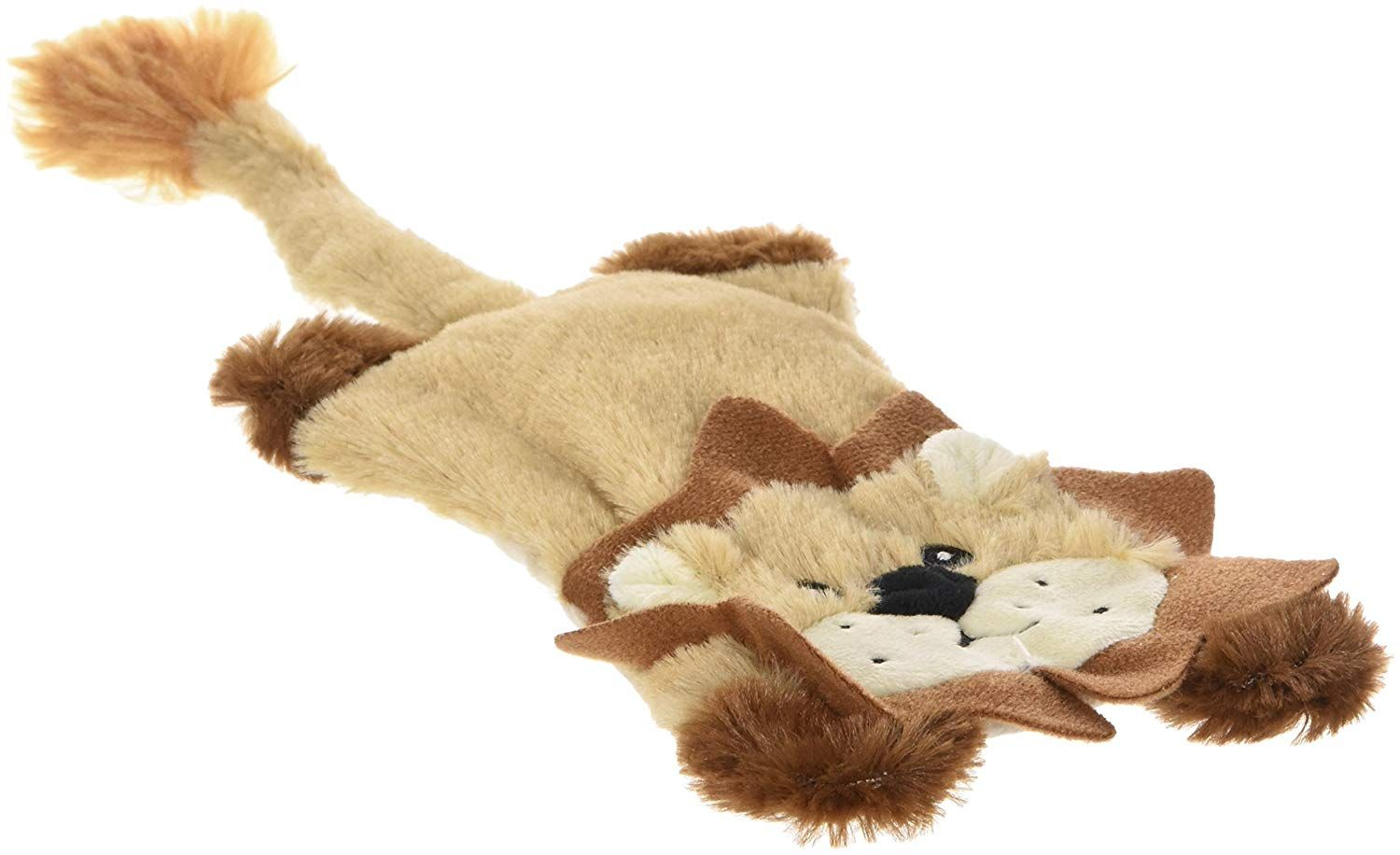 Ethical Skinneeez Flat Cats Assorted 12 Inch Stuffingless Dog Toy