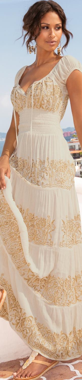 Boston Proper Sequin Peasant Maxi Dress  202d3cb1f5