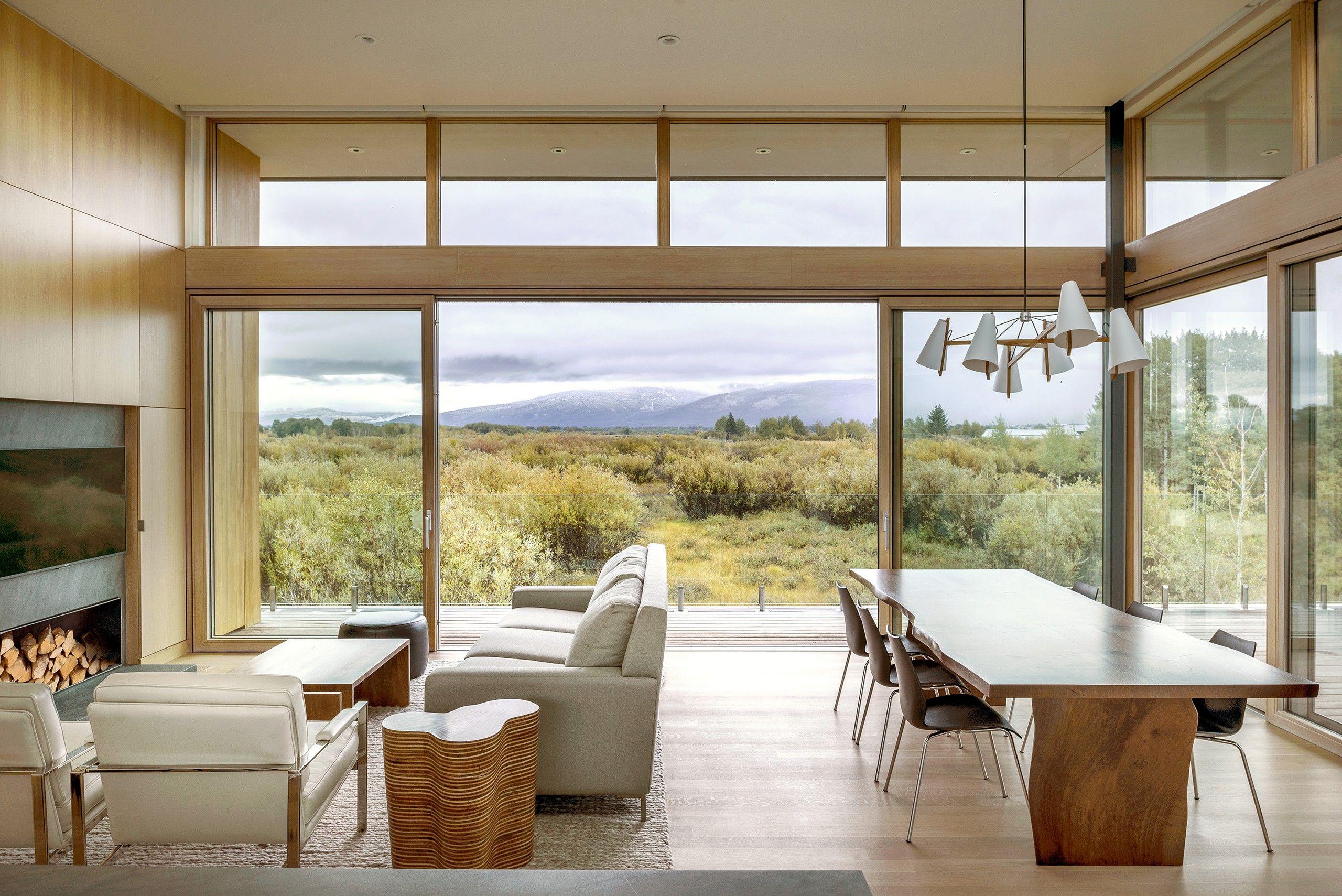 Teton residence ro rockett design media photos and videos archello also rh pinterest