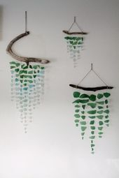 Wanddekoration – DIY – Blog – GardenWeb – #decor #gardenweb – # Earnestine'sGardenArt