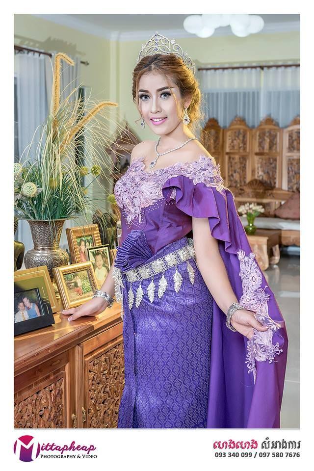 Bonito Trajes De Boda Khmer Fotos - Ideas para el Banquete de Boda ...