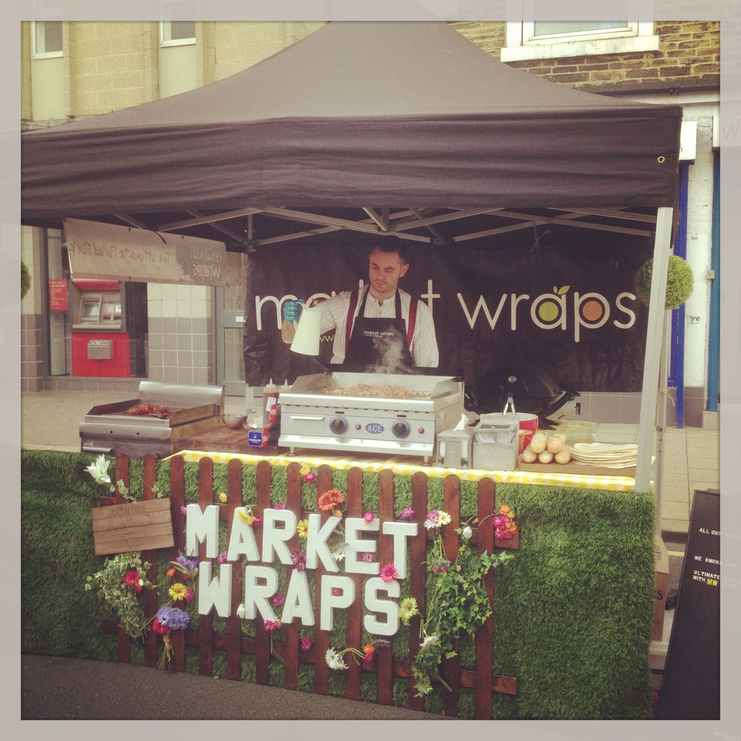 how to set up food stall melbourne