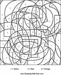 free printables colornumber or letter pages to practice fine motor skills or just for fun