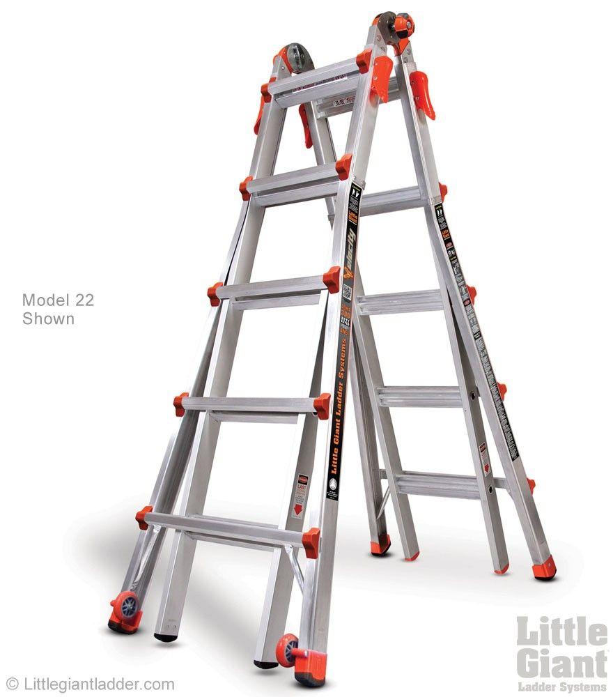 Velocity Ladder Type 1a Little Giants Ladder Multi Purpose Ladder