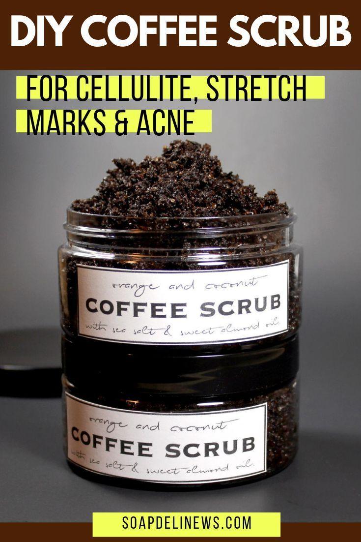 Diy coffee scrub for in 2020 coffee scrub diy coffee