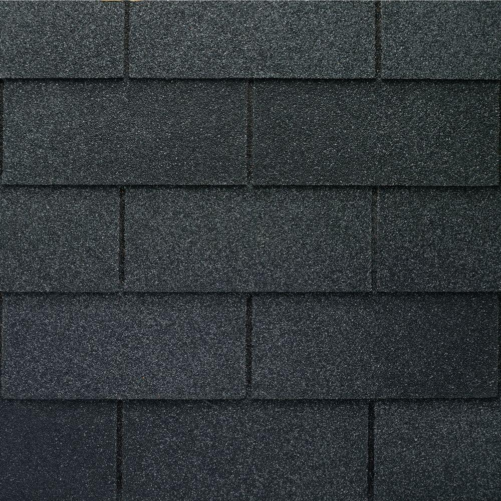 Gaf Royal Sovereign Charcoal Algae Resistant 3 Tab Roofing Shingles 33 33 Sq Ft Per Bundle 26 Pieces 0201180 The Home Depot Roof Shingles Shingling Architectural Shingles