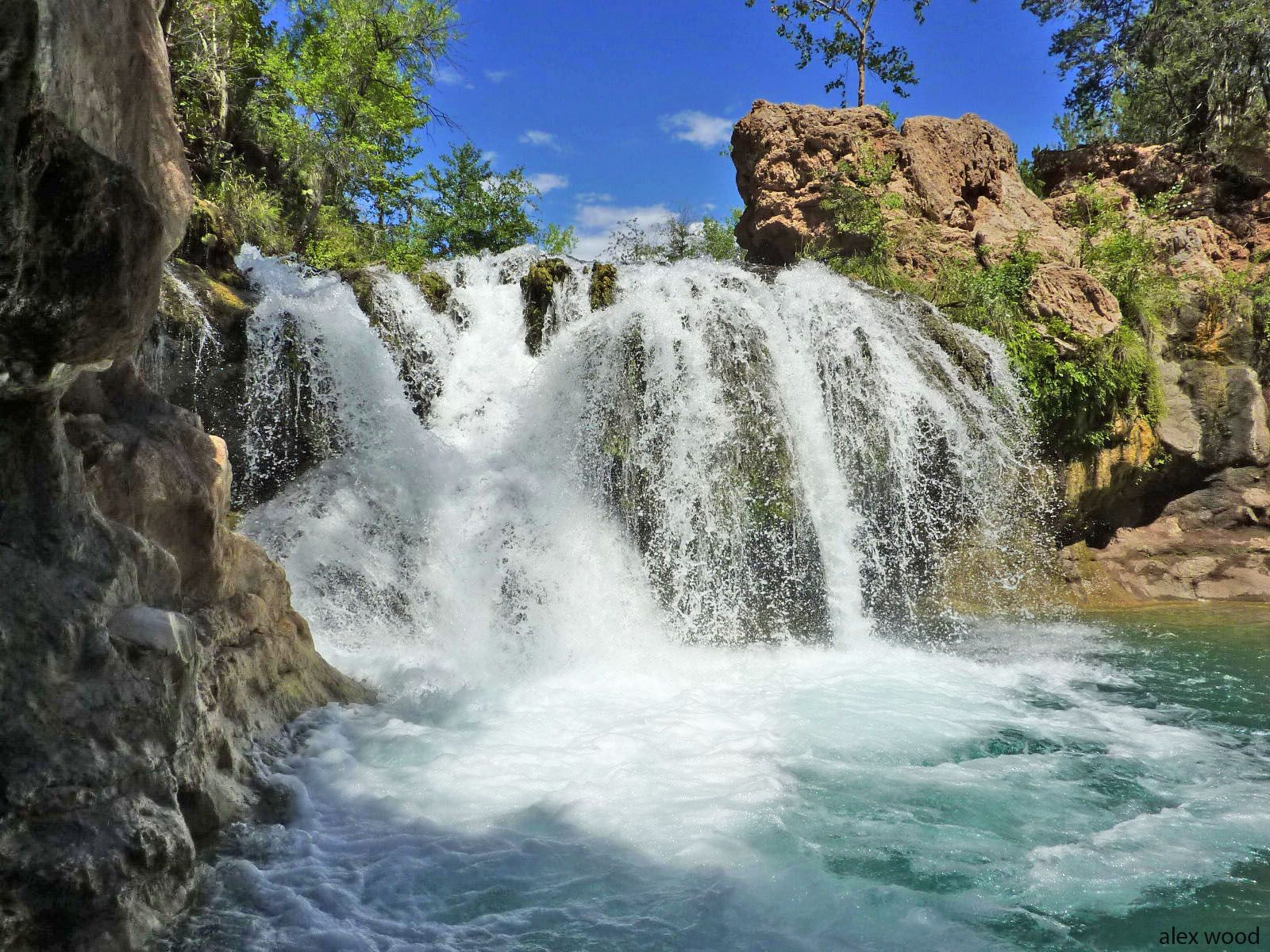 Fossil Creek Is A Beautiful Spring Fed East Of Camp Verde In Central Arizona The Produces Around Gallons Turquoise Blue Water That Runs