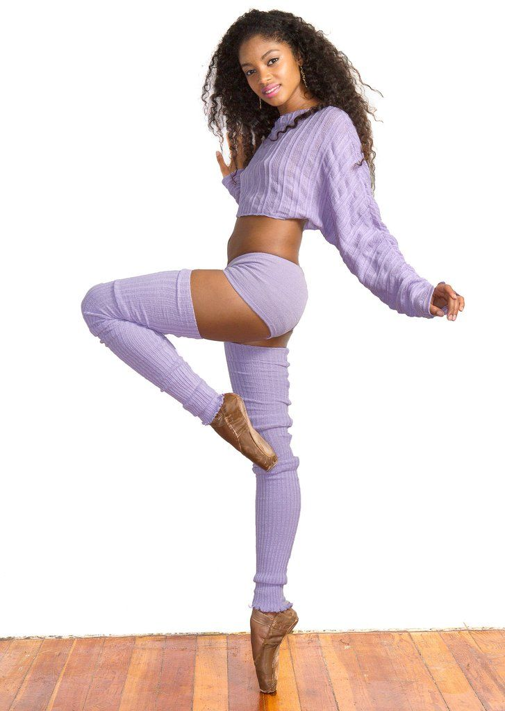 fefbb0ab2ca71 KD dance New York Makers of the Finest Knit Dancewear in the World. KD dance  Sexy 3 Piece Stretch Knit Set Super Long 40 Inch Thigh High Leg Warmers