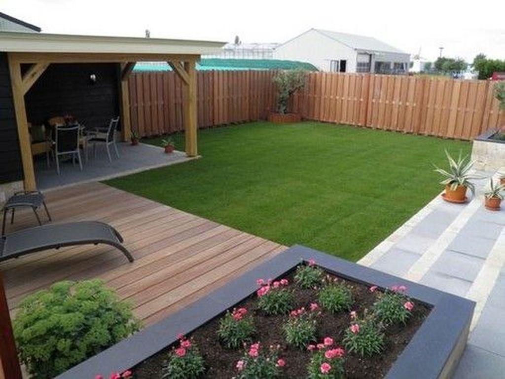 36 Stunning Small Garden Design Ideas That You Definitely Like Trendehouse Modern Backyard Design Modern Backyard Backyard
