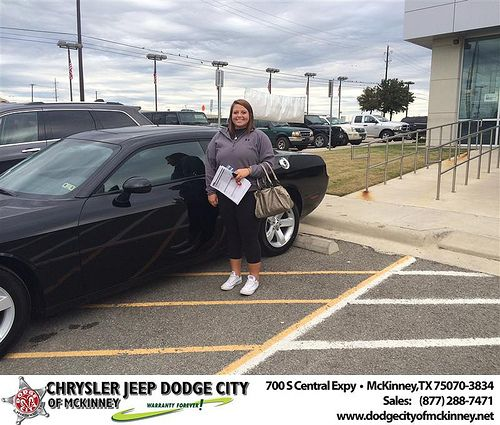 Thank You To Kylie Roos On Your New Car From Callan Perry And Everyone At Dodge City Of Mckinney Lovemynewcar With Images Dodge City New Cars Dodge
