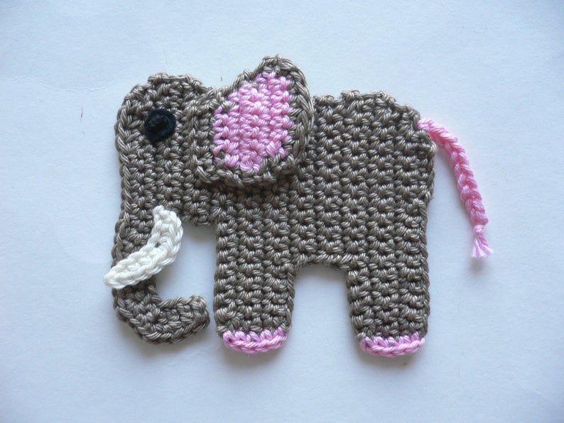 Pin On Animalitos Appliques Crochet O Ganchillo