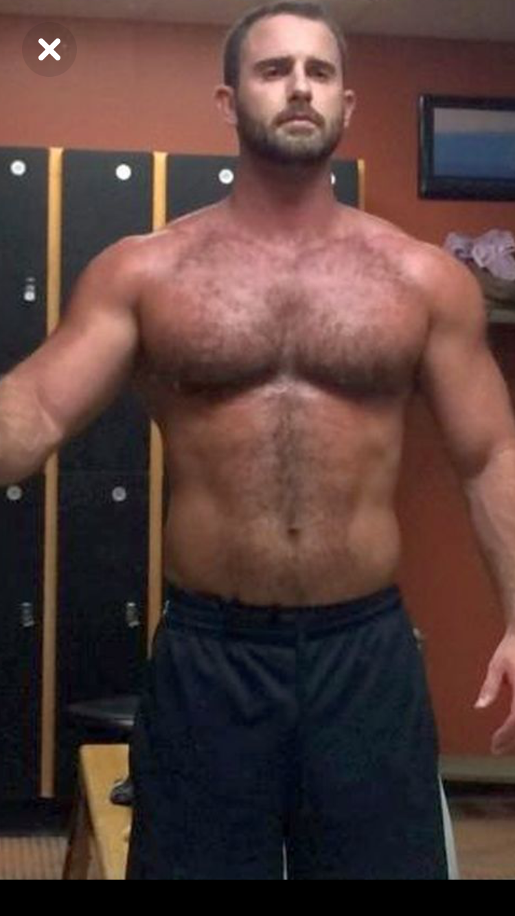 Hairy beefy men