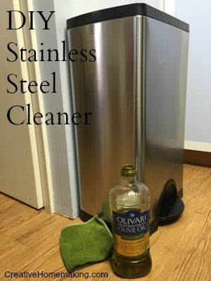 Easy DIY stainless steel cleaner that costs just pennies to make.