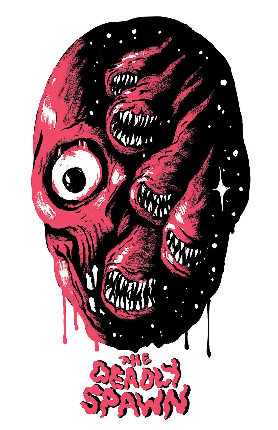 Gallery trevor henderson in 2020 horror movie art