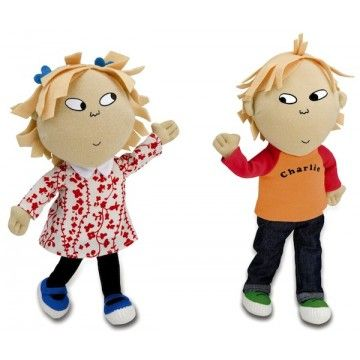Charlie And Lola Talking Posable Dolls Cool Gifts For Kids Cute Stuffed Animals Dolls