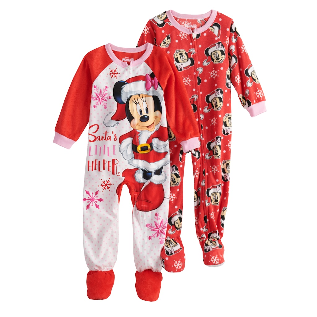 1a30f334c44c Disney Disney s Minnie Mouse Toddler Girls 2-pack Christmas Santa s ...