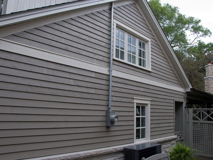 Finished With Maibec Siding 别墅 Pinterest Ext 233 Rieur