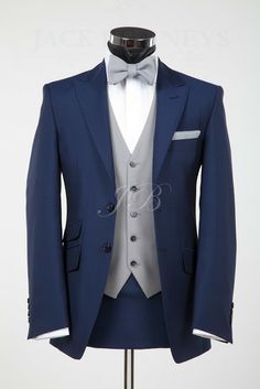 navy and white wedding men - Google Search | wedding attire ...