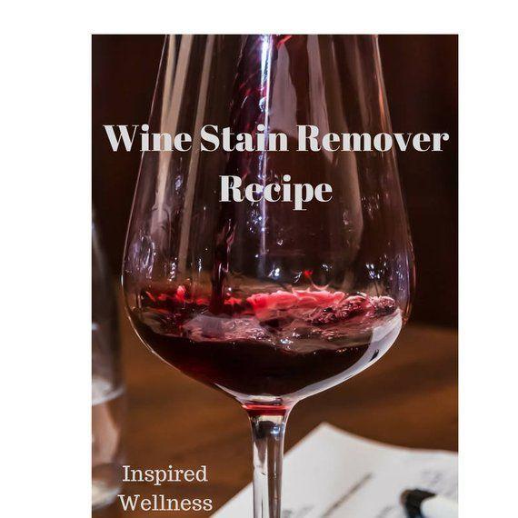 Essential Oil Wine Stain Remover