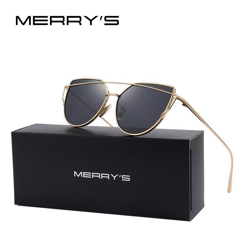 3da2f15651 Classic Brand Designer Twin-Beams Sunglasses Coating Mirror Flat Panel Lens