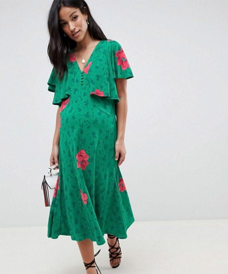 Chic maternity wedding guest dresses for every type of