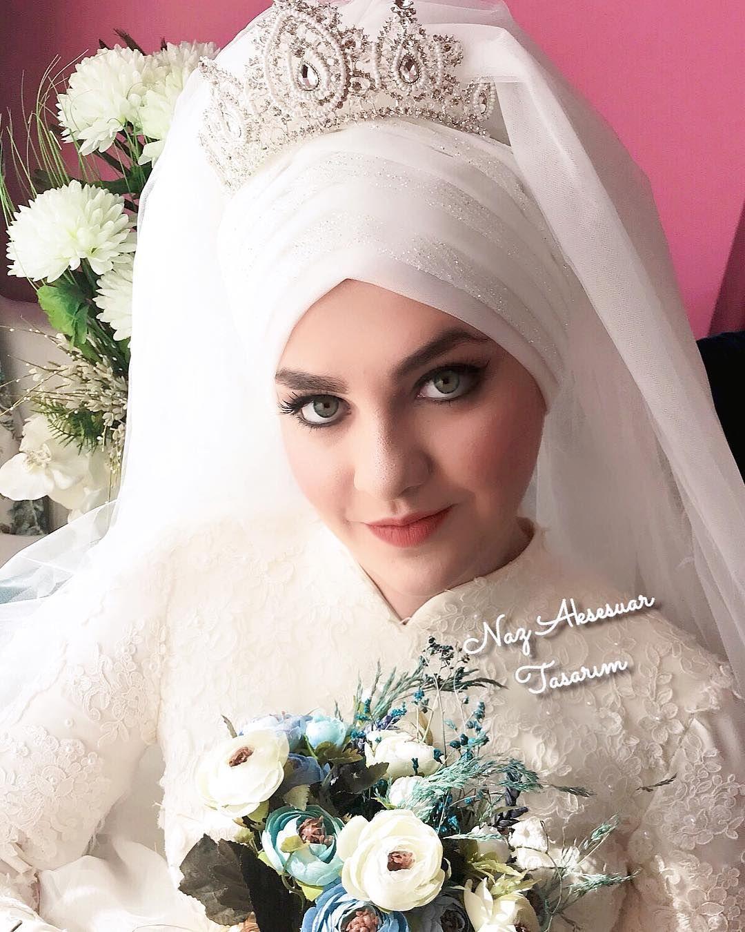 599daf65b0e66 En Sik Gelin Basi Hazir Duvak Modelleri 1 | www.tesetturelbisesi.com ...