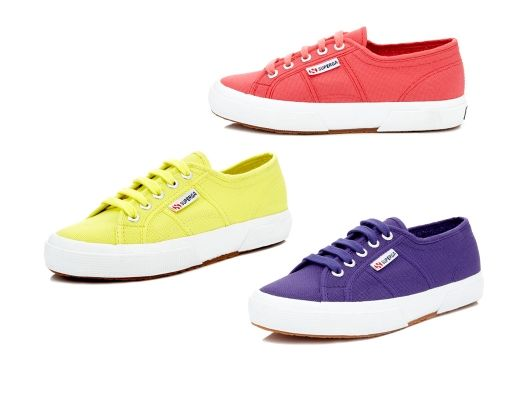Classic Sneakers in Fun Colors.