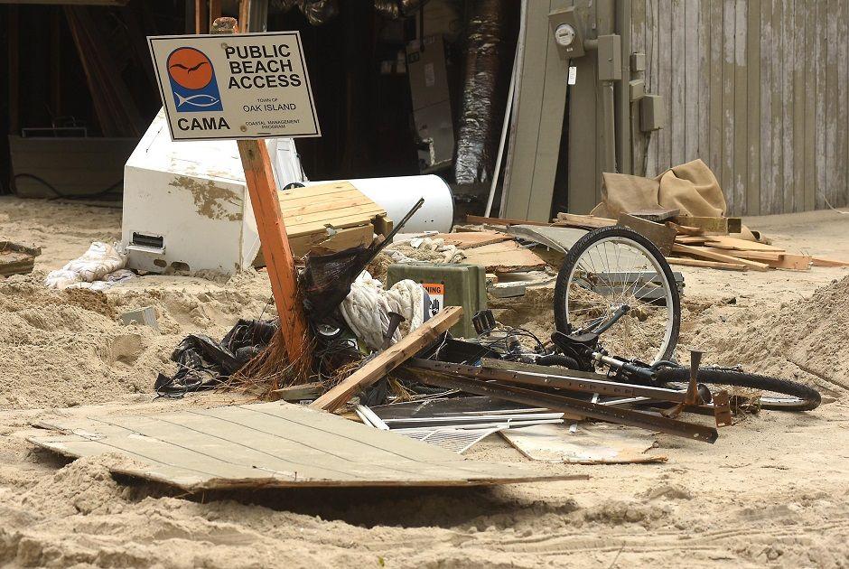 North Carolina Counties Lead U.S. in Hurricane Impacts