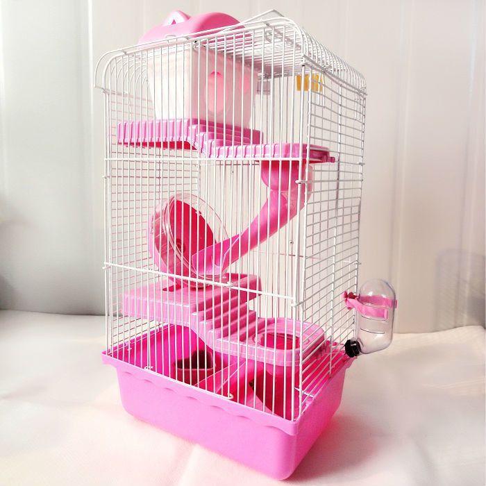Multi Storey Castle Hamster Cage Hedgehog Pet Cage Hamster Accessories Hedgehog Pet