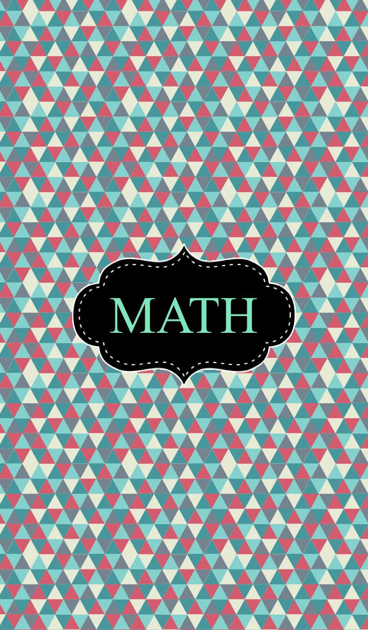 Maths Book Cover Printable : Tribal math binder cover covers pinterest