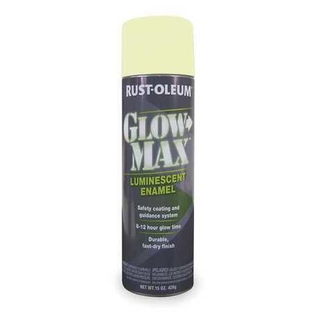 Rust Oleum 223886 Glow In The Dark Spray Paint Green 15 Oz Glow In The Dark Glow Rustoleum